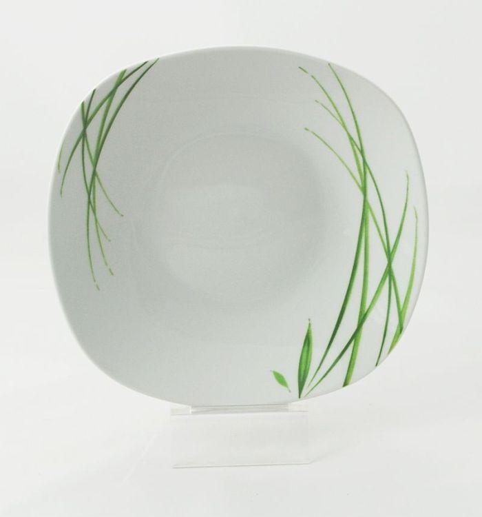 talíř d21.5cm hluboký, DELIA, porcelán
