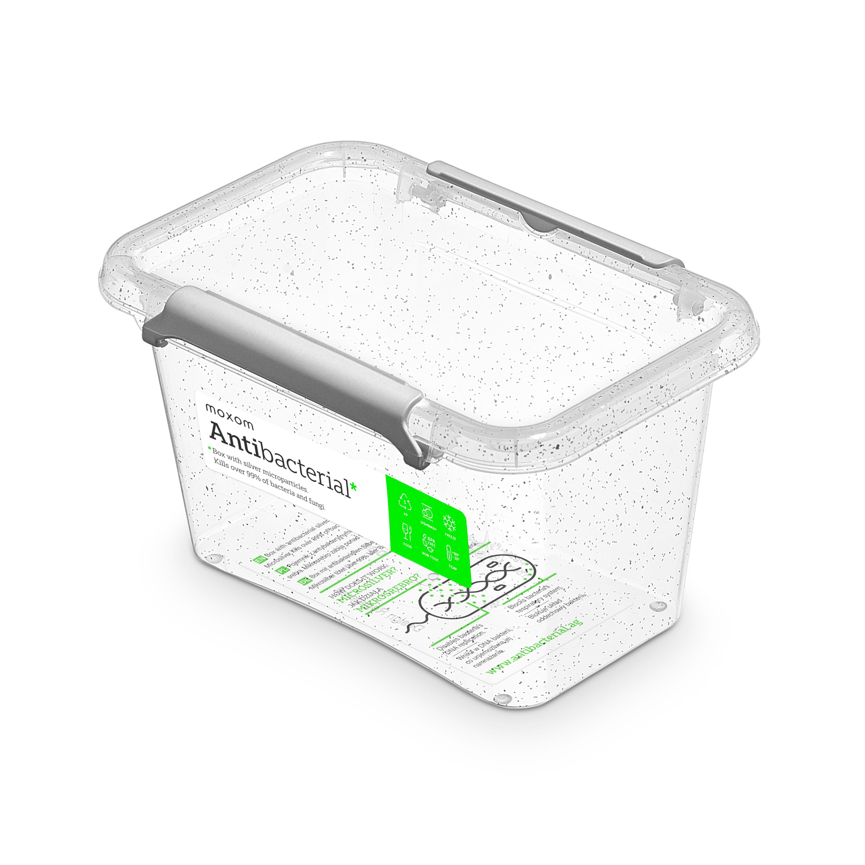 antibakter.box  0,65 l 15x9,5x8,5cm,transp.plast
