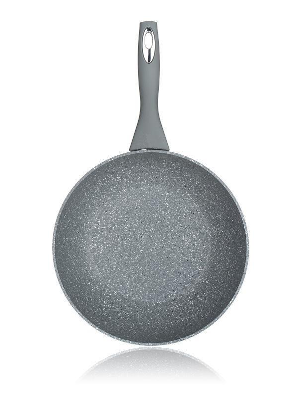 pánev d24x5,0cm CUISINO GRAN.GREY, nepř.p.,indukce