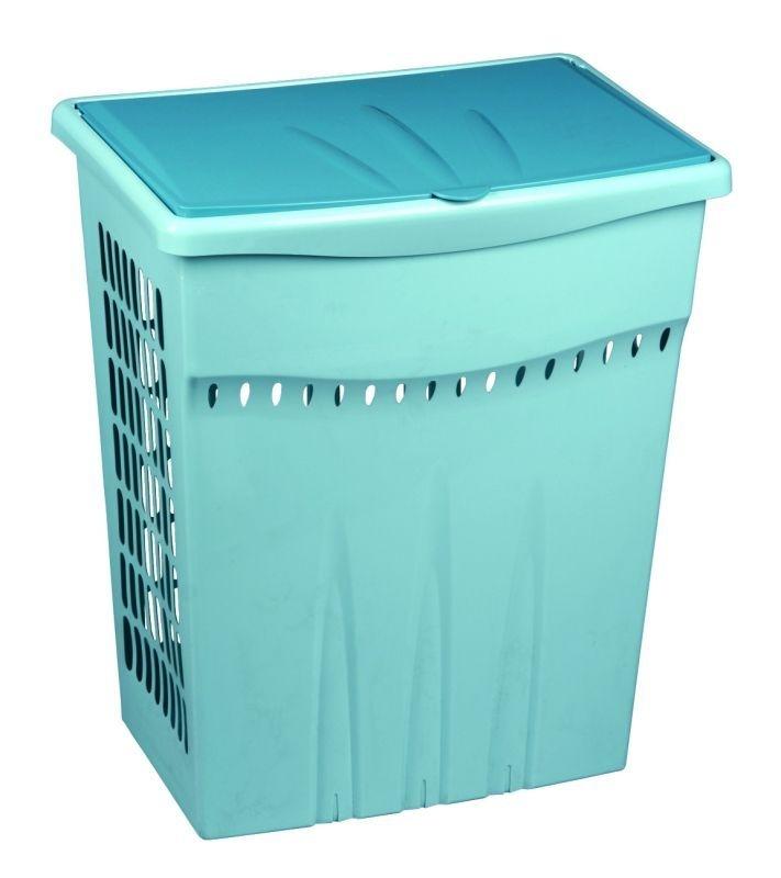 koš 60l na použ.prádlo, 47x33x53, plast