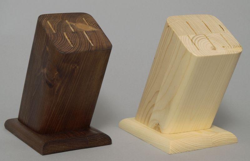 blok na  7nožů šikmý, dřevo
