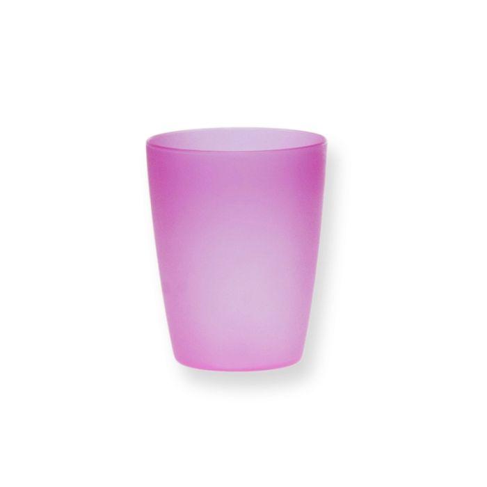kelímek 0,3l (d75,h.90mm)průsvit.matný plast
