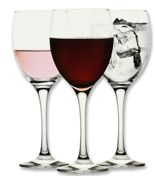 sklen. 245ml, 6ks, VENUE v.16,9cm (KNK)- víno