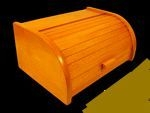 chlebovka 38x28x18cm, mořená, dřevěná