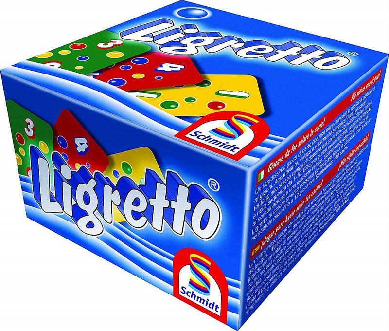 Hra Ligretto - modrá