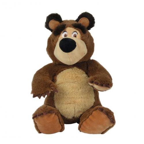 Máša a medvěd Plyšový medvěd 20cm sedící