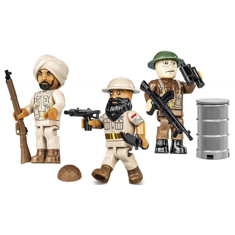 Figurky s doplňky British Special Air Service SAS,