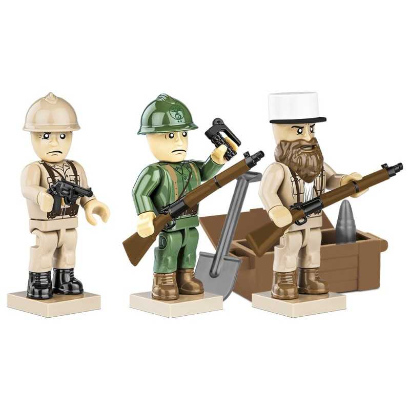 Figurky s doplňky French Armed Forces, 30 k