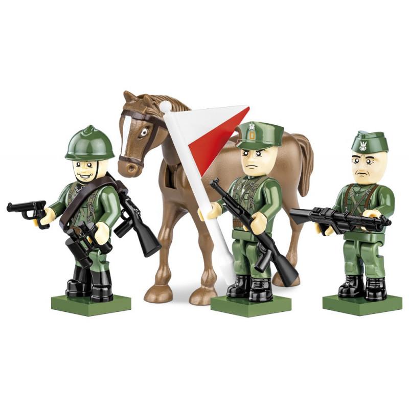 Figurky s doplňky Polská armáda 1939, 30 k