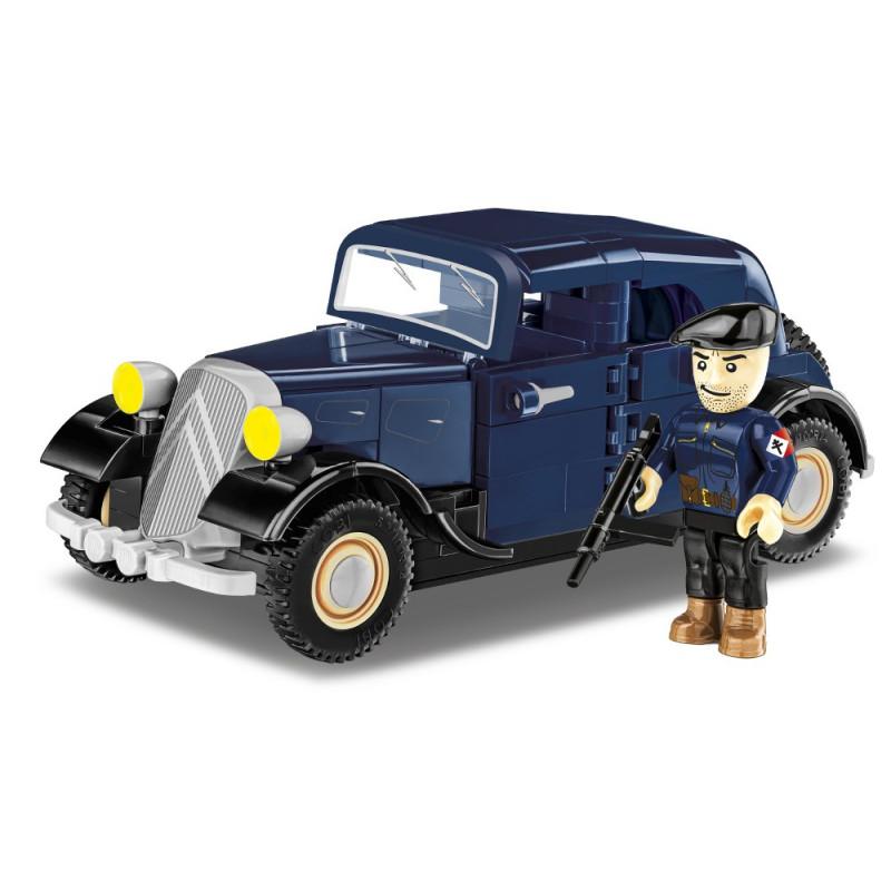 Stavebnice 1934 Citroën Traction 7A, 1:35, 222 k,