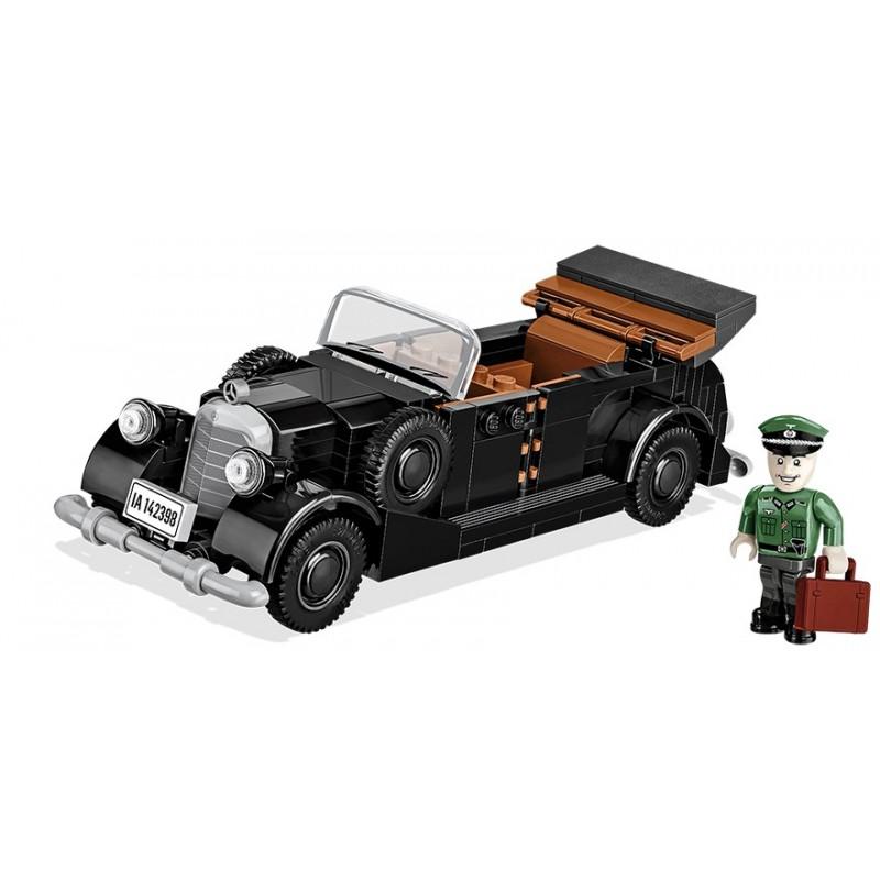Stavebnice 1938 Mercedes 770, 1:35, 255 k, 1 f