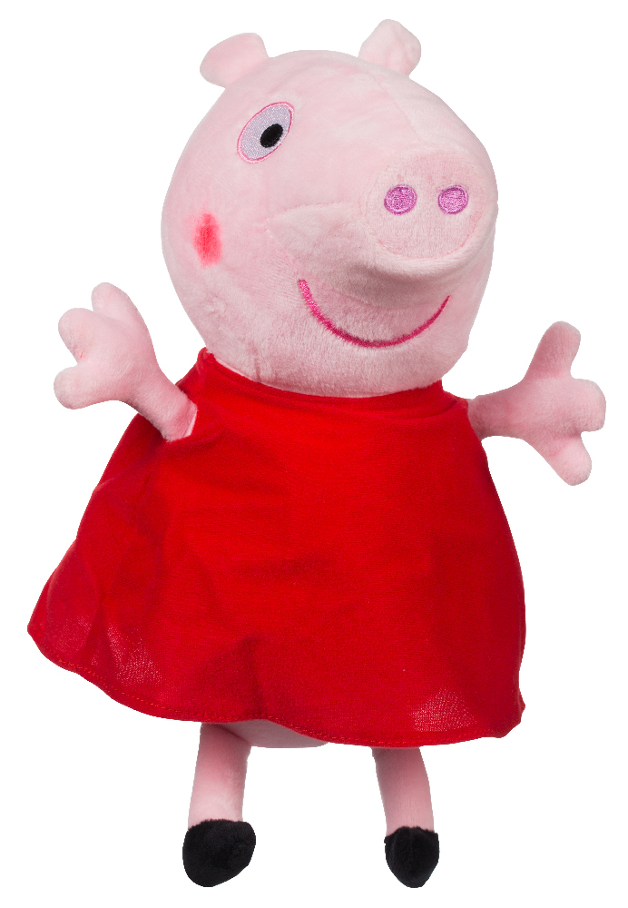 Plyšové prasátko Peppa Peppa Pig 35 cm