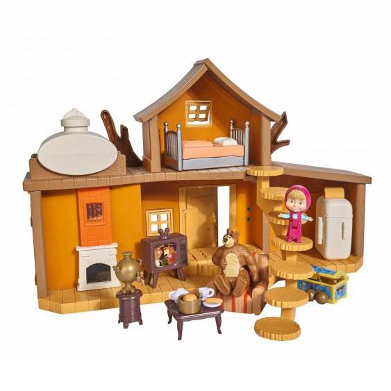 Máša a medvěd Velký dům medvěda