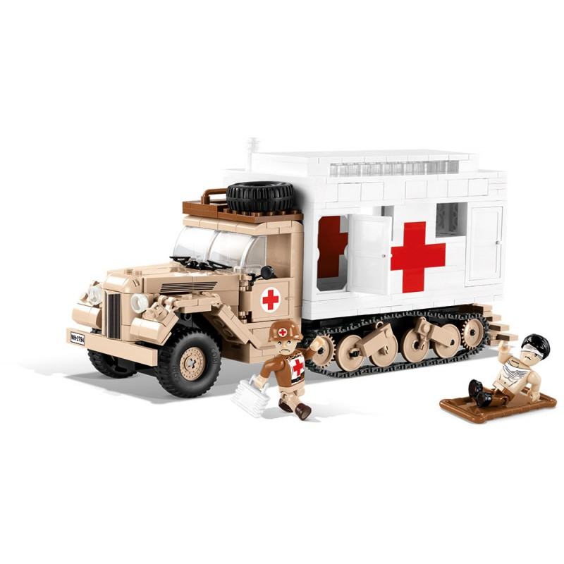 stavebnice II WW Ford V3000S Maultier Ambulance 52