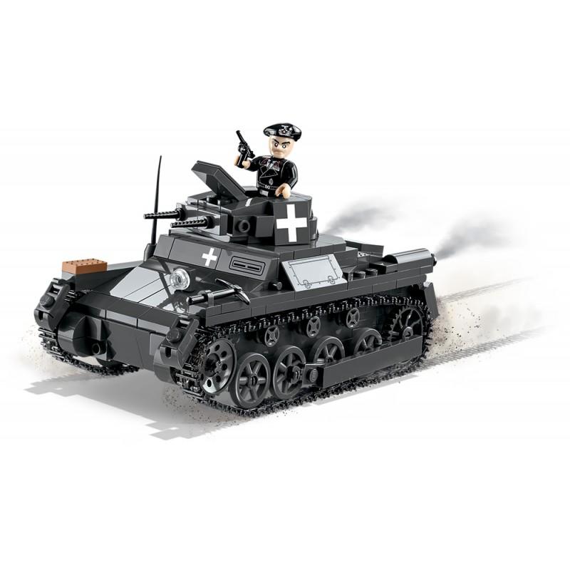 Stavebnice II WW Panzer I Ausf A, 330 k, 1 f