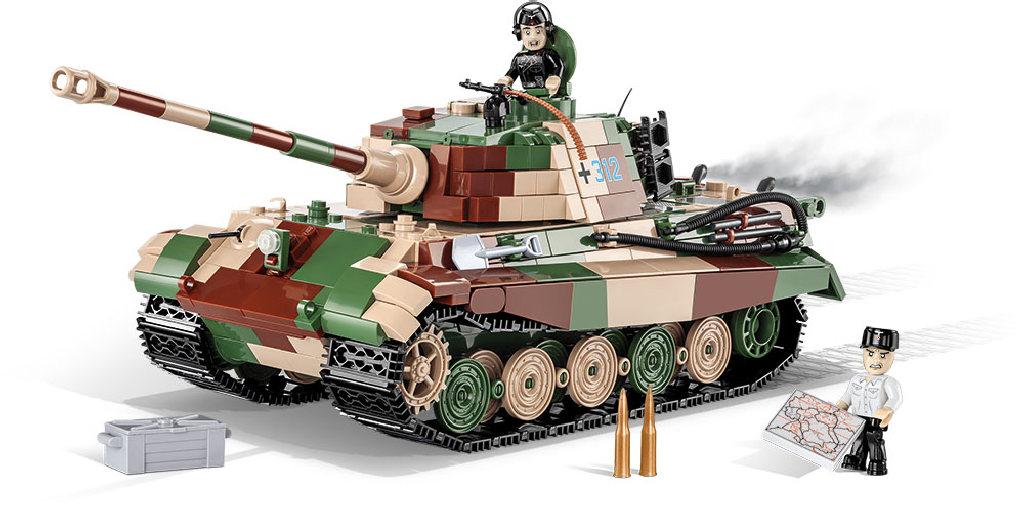 Stavebnice II WW Panzer VI Tiger Ausf. B Konigstig