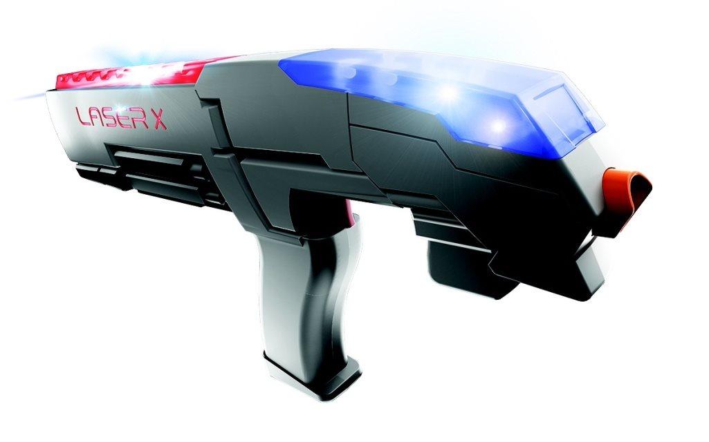 Laser-X pistole na infračervené paprsky – sada pro