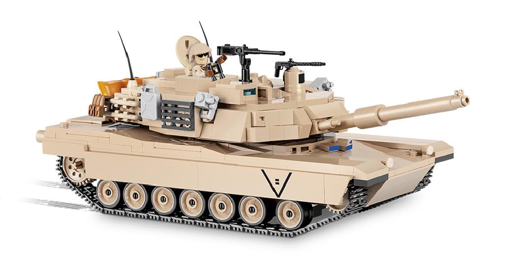 Stavebnice Small Army Abrams M1A2, 1:35, 810 k, 1