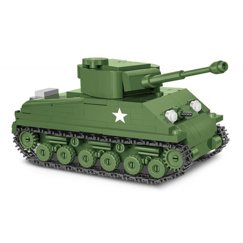 Stavebnice II WW Sherman M4A3E8 Easy Eight, 1:48,