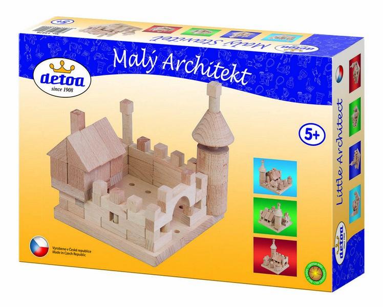 Stavebnice dřevěná Malý Architekt