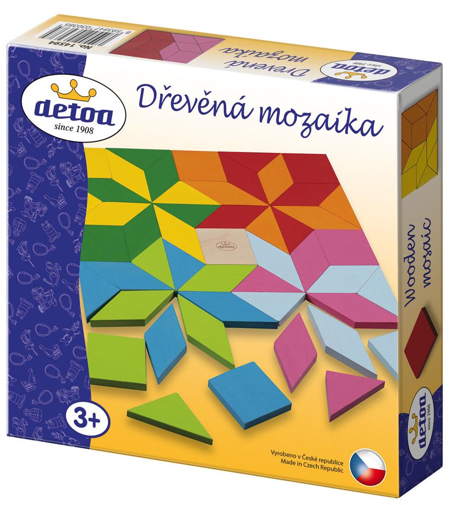 Mozaika dřevěná
