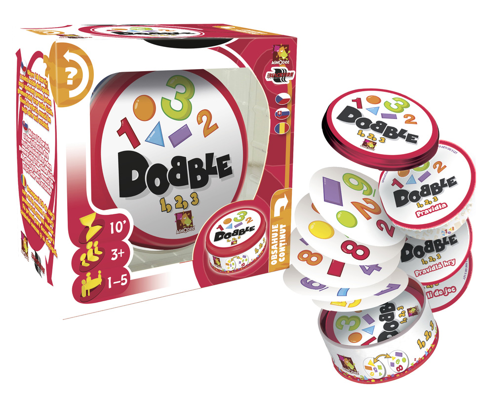 Hra Dobble 1-2-3