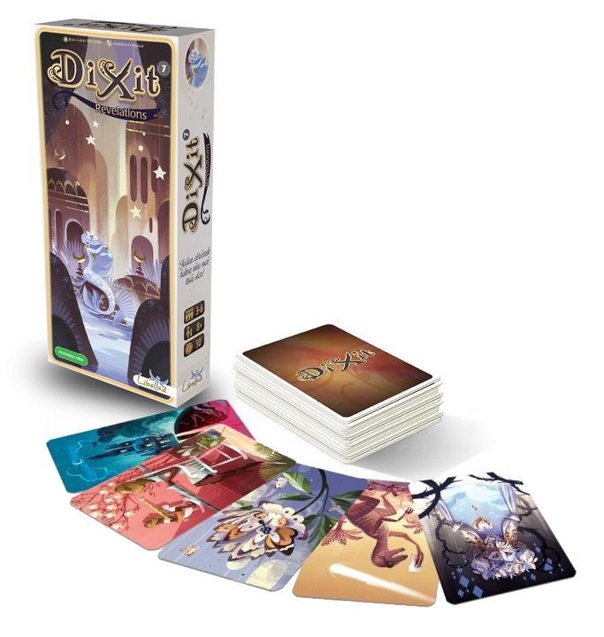 Hra Dixit 7. rozšíření Revelations