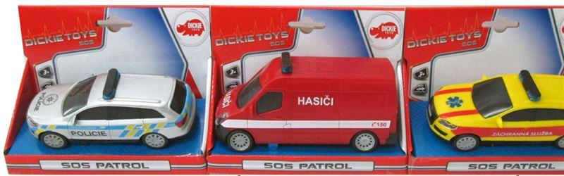 Auto SOS 14 cm česká verze 3 druhy