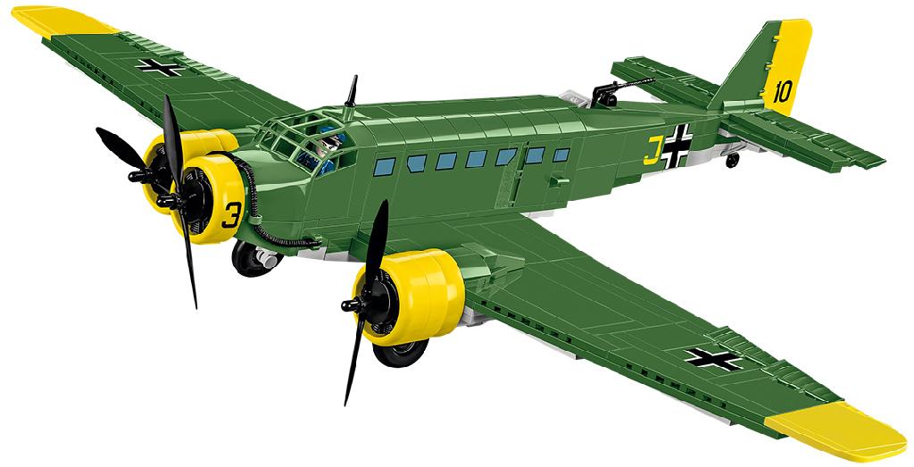 Stavebnice II WW Junkers JU 52/3M, 548 k, 2 f