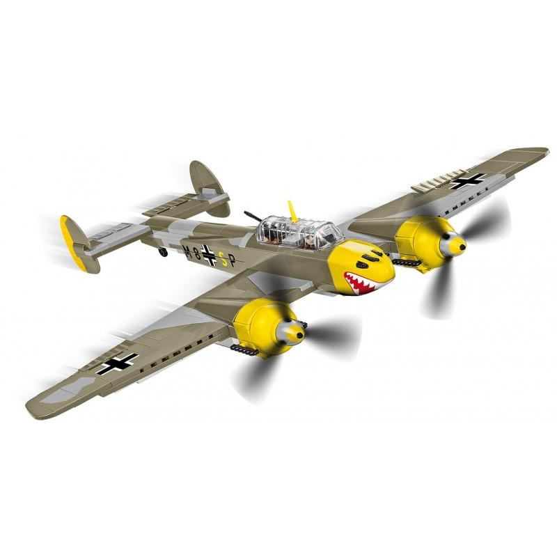Stavebnice II WW Messerschmitt BF 110B, 422 k, 2 f