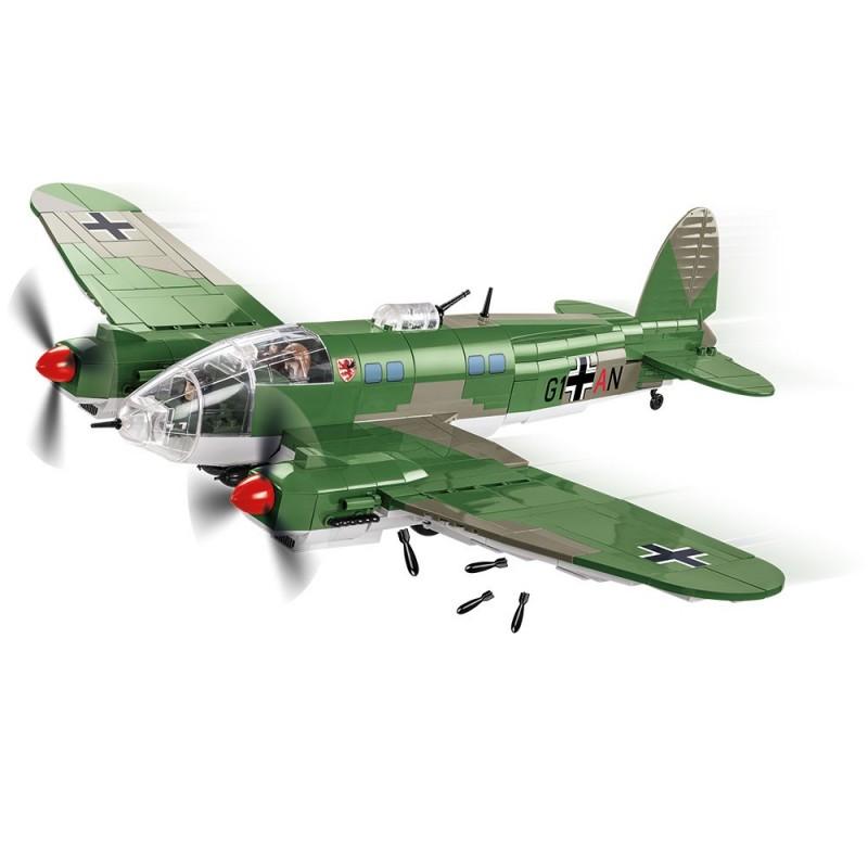 Stavebnice II WW Heinkel He 111 P-2, 675 k, 2 f