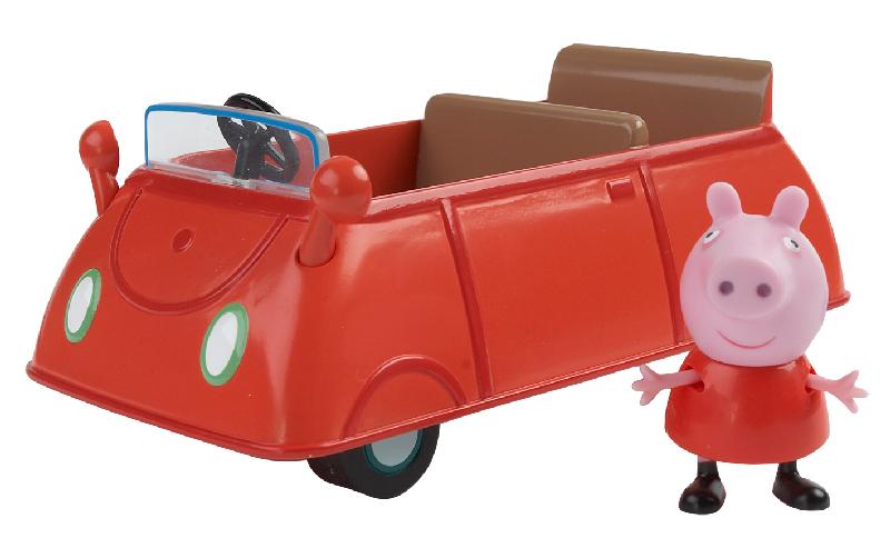 Rodinné auto + figurka Prasátko Peppa