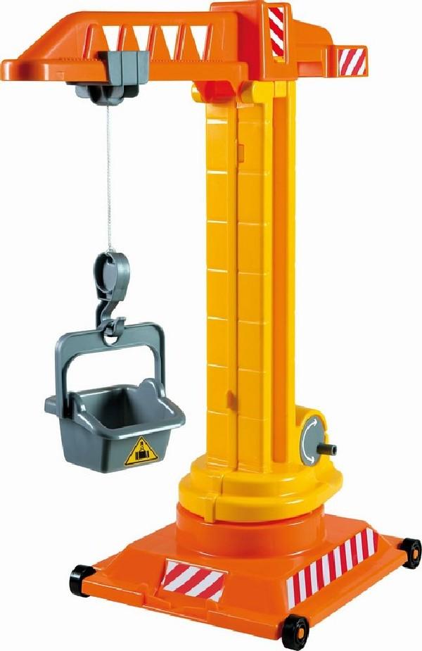 Jeřáb na pojízdné plošině - výška 52 cm