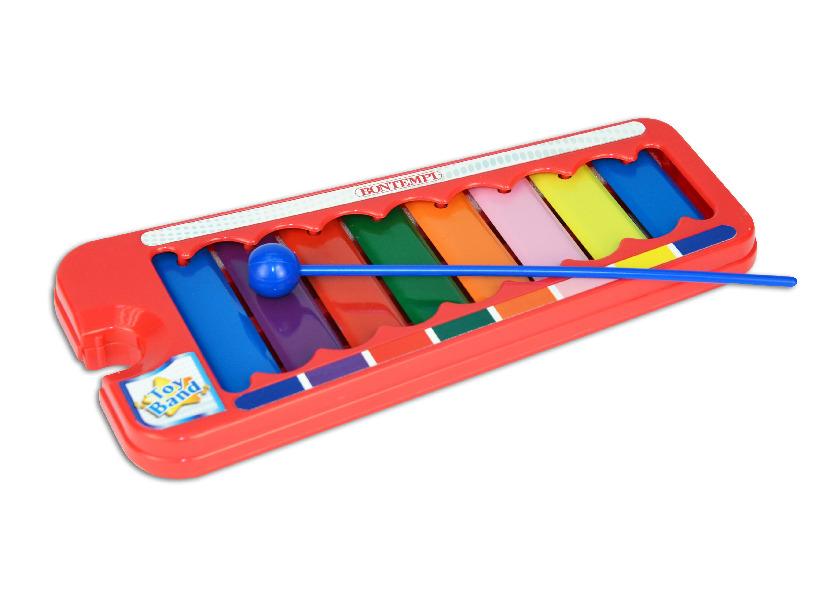 Xylofon mini 24 x 10.5 x 2 cm