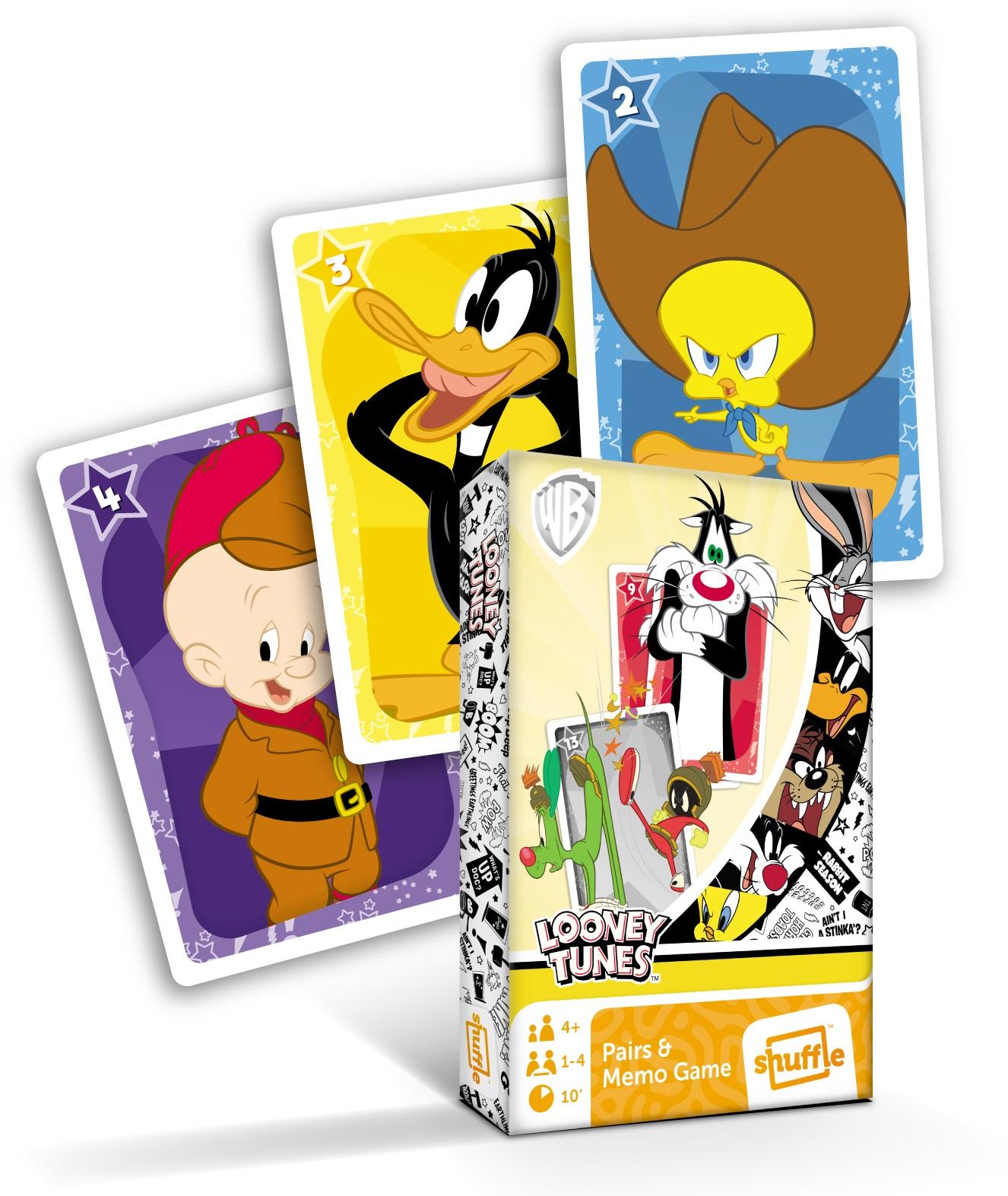 Karty Černý Petr Looney Tunes