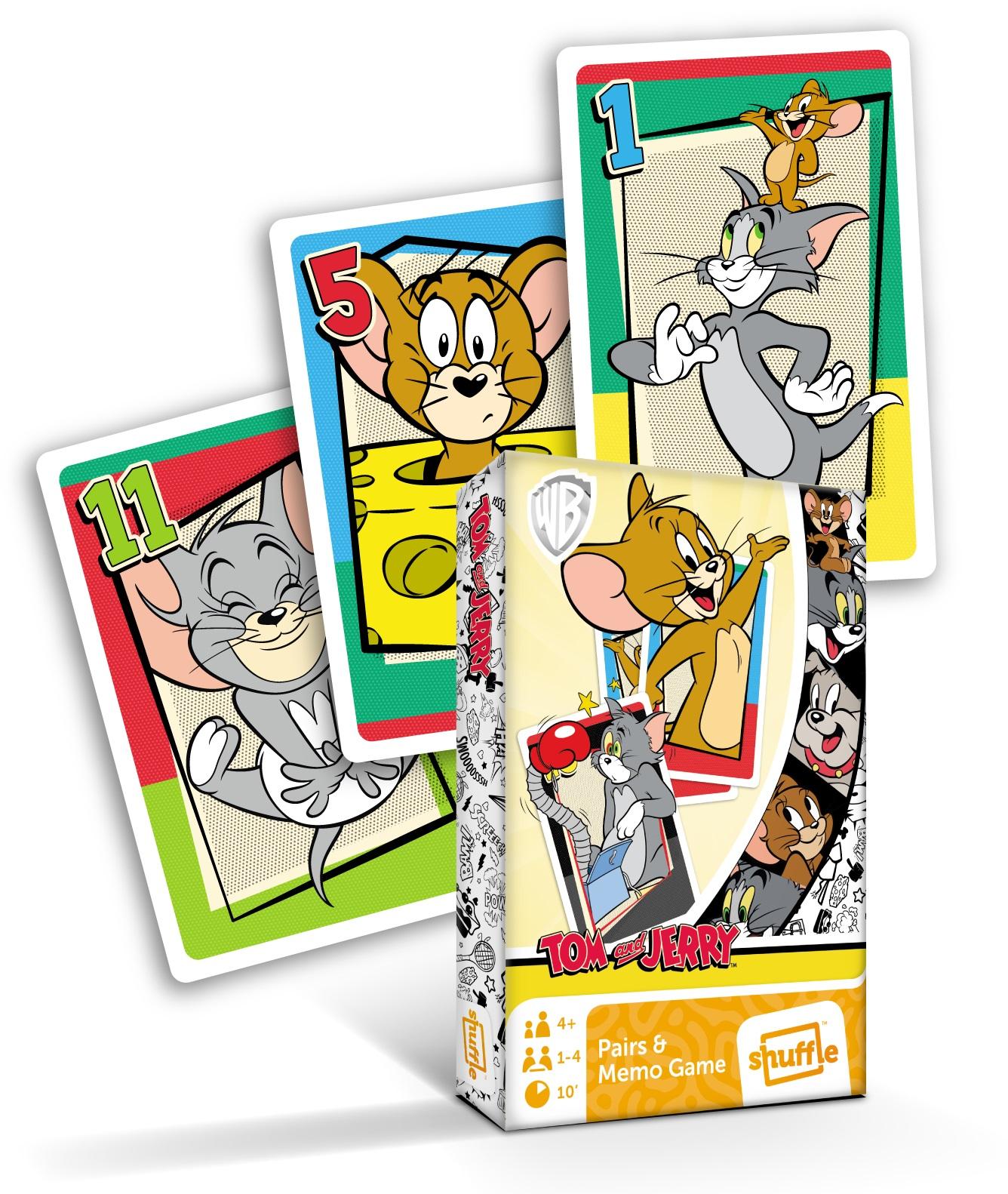 Karty Černý Petr Tom and Jerry