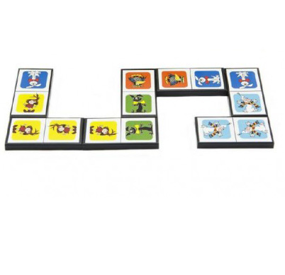 Hra Domino Pojď s námi do pohádky 28ks