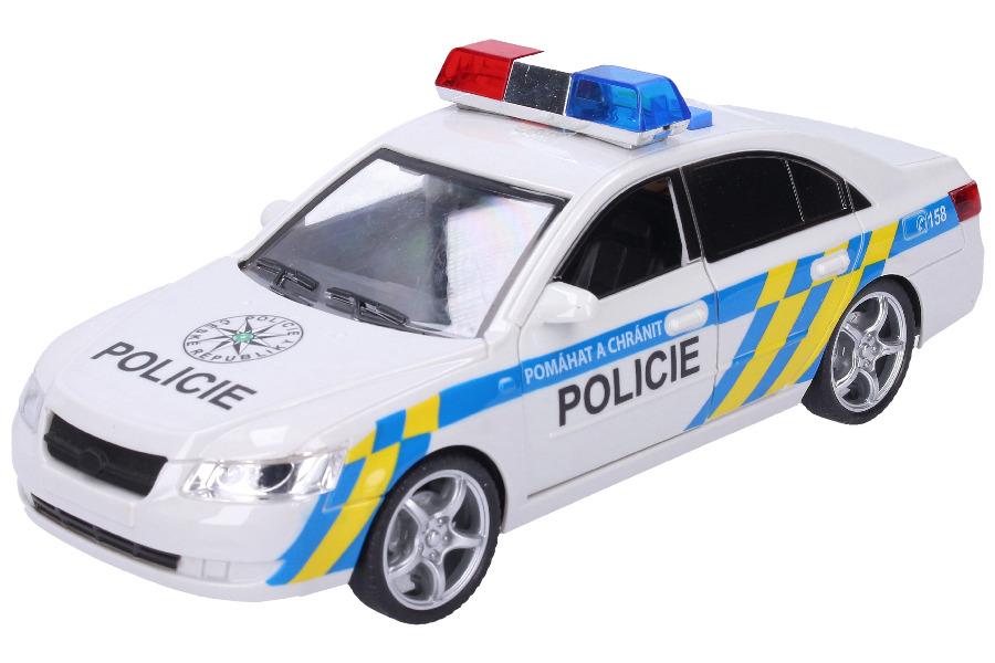 Policejní auto s efekty 24 cm