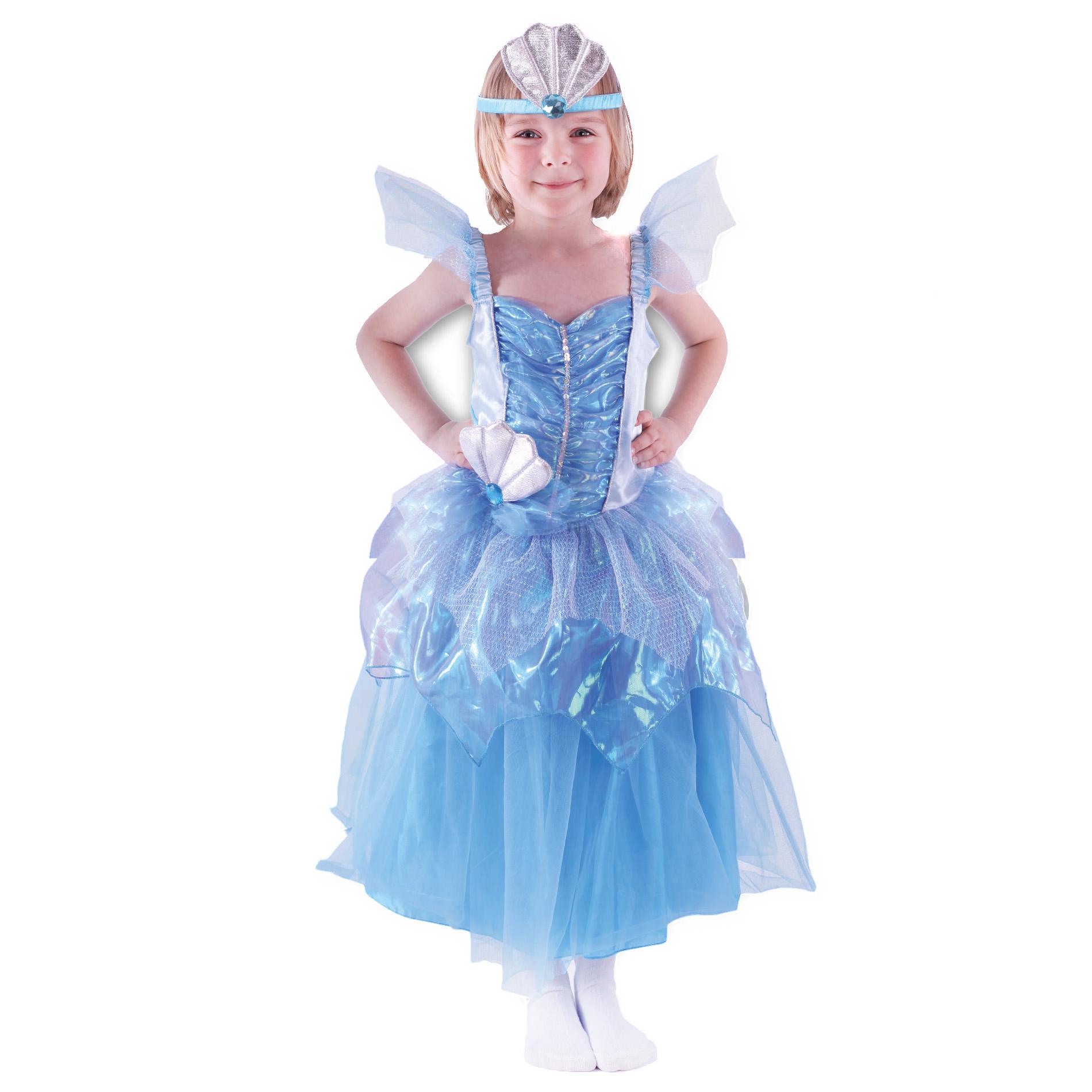 Dětský kostým mořská princezna (M)