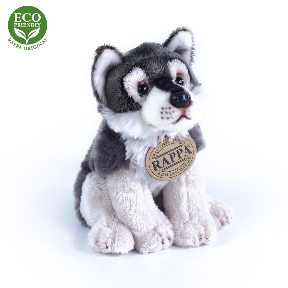 Plyšový vlk sedící 15 cm ECO-FRIENDLY