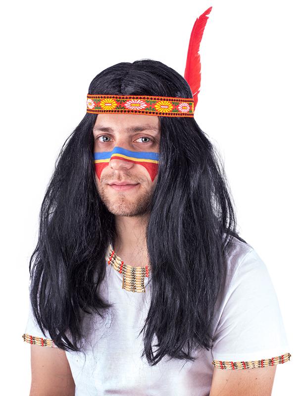 Paruka indián pro dospělé