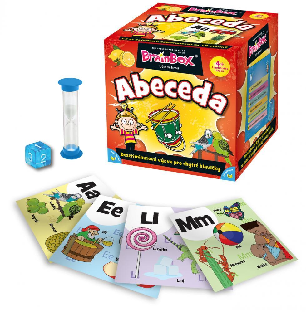 Hra Brainbox - abeceda