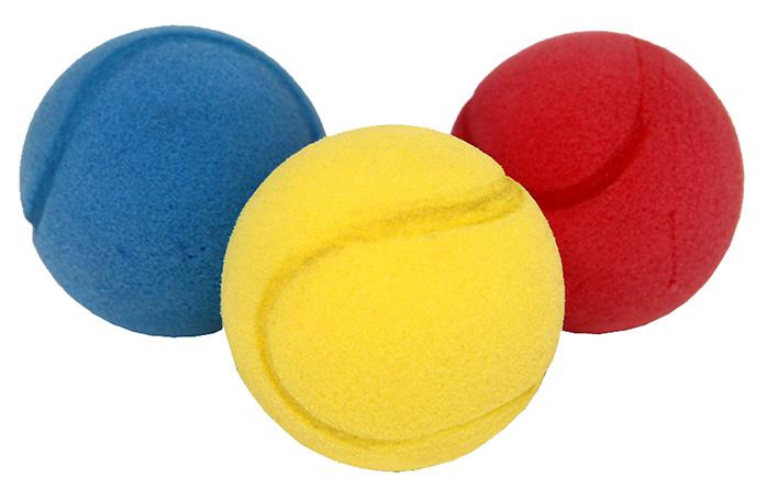 míček soft barevný 2 ks v sáčku 7 cm