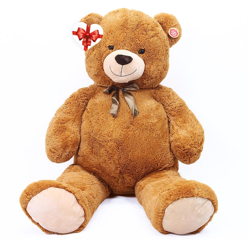 Velký plyšový medvěd Max s visačkou 150 cm