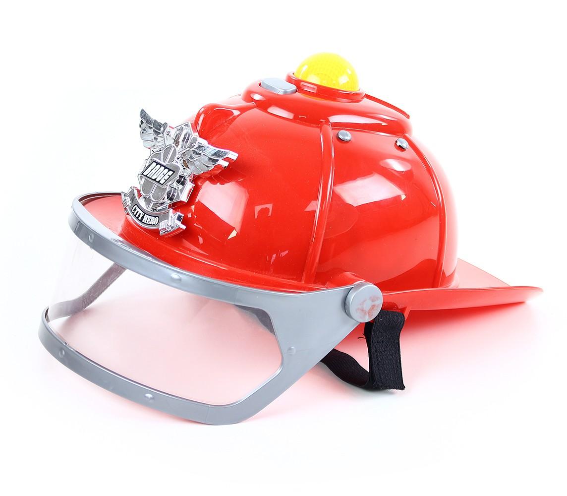 Hasičská helma se zvukem a světlem