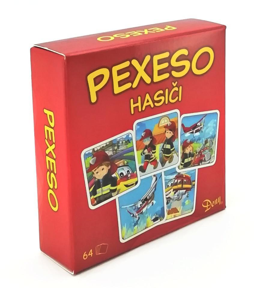 Pexeso Hasiči v krabičce