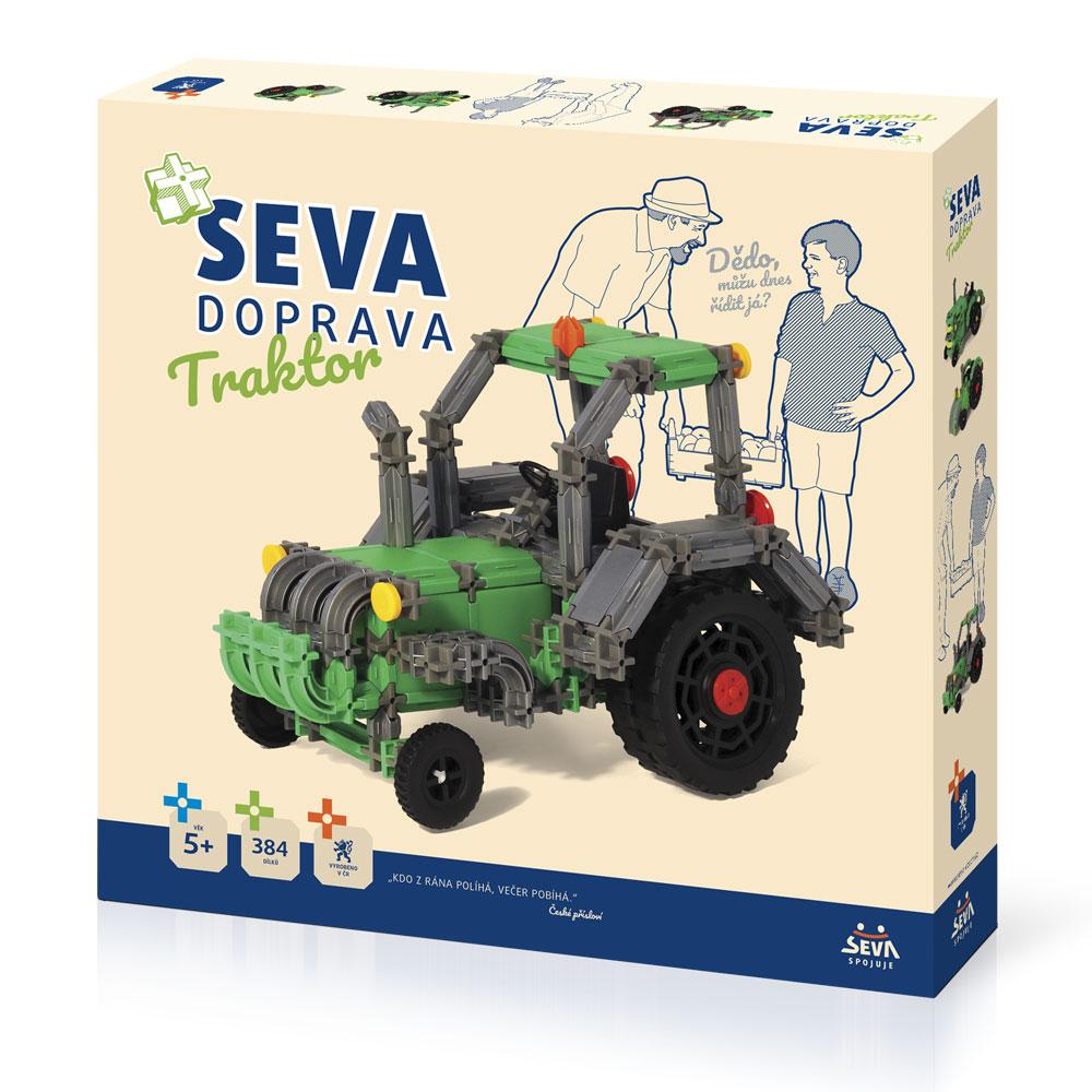 Stavebnice SEVA DOPRAVA - Traktor