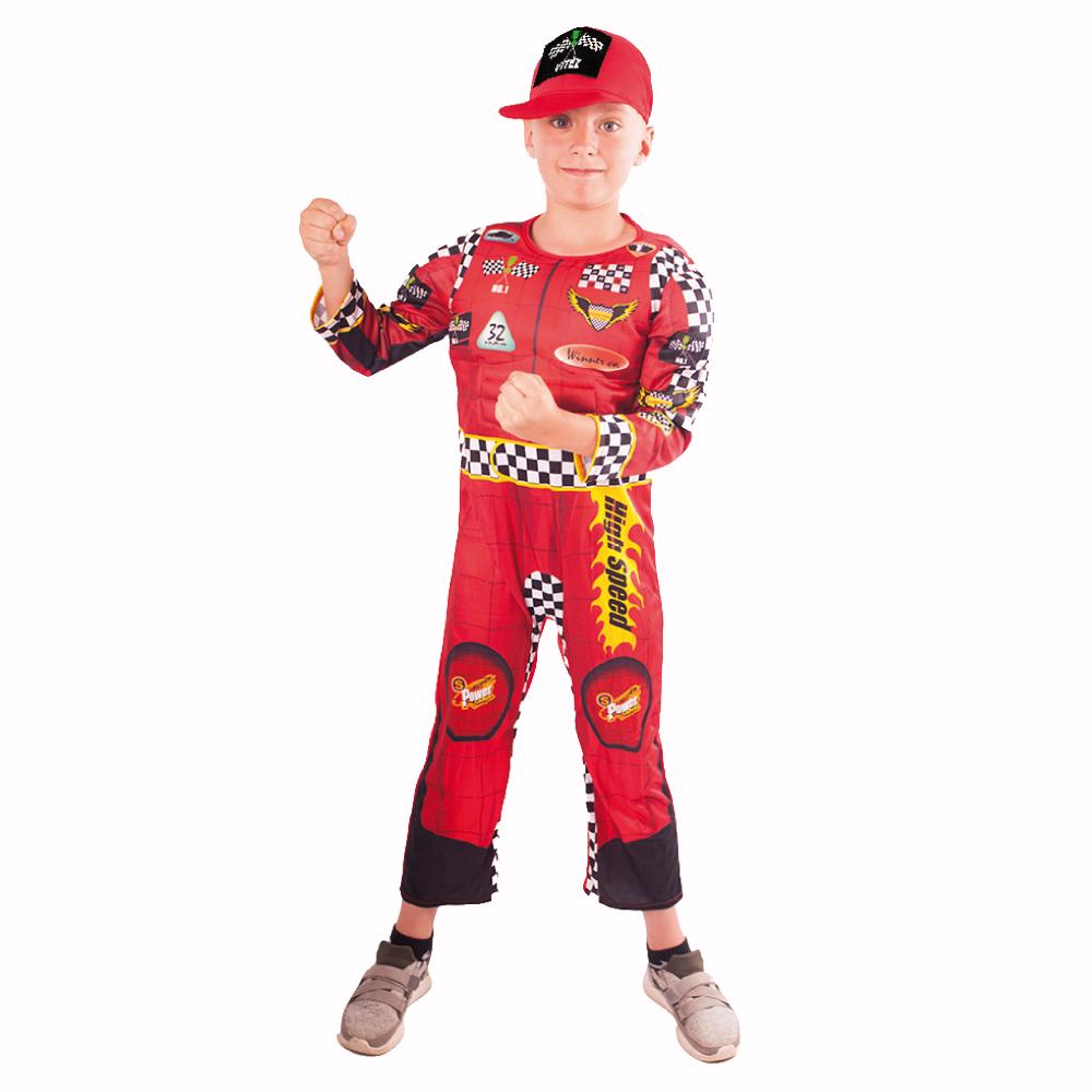 Dětský kostým závodník (S)