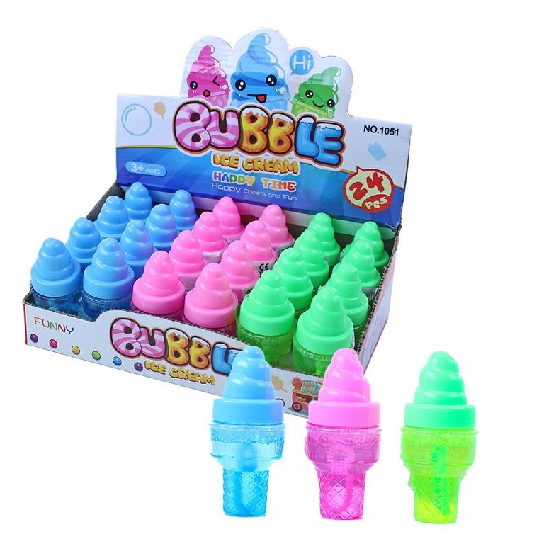 Bublifuk zmrzlina 3 barvy 30 ml