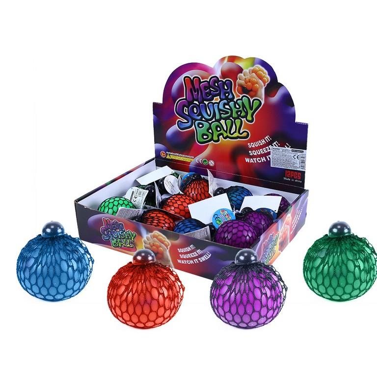 Antistresový míček měnící barvu 7 cm